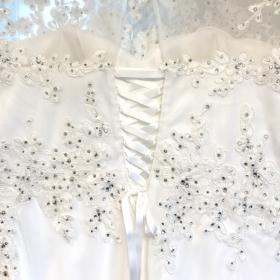 Hochzeitkleid angepasst